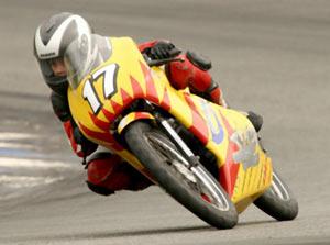 Toninho Chiari chega em segundo na 125cc
