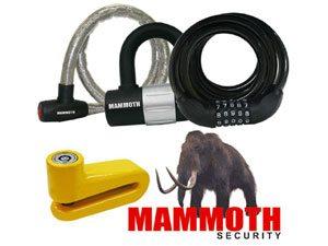 Travas e cadeados Mammoth