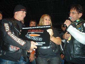 Tubarões de Cabo Frio recebem homenagem em Miguel Pereira(RJ)
