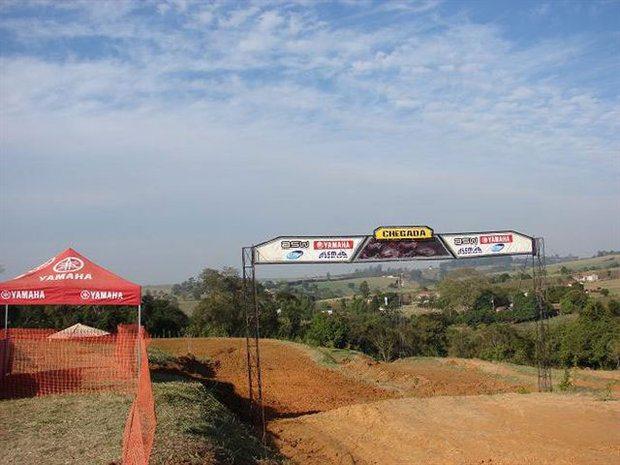 Tudo pronto para 4ª etapa da Copa São Paulo de Motocross