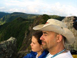 Foto: Um domingo de escalada qualquer