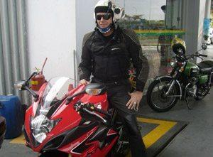 Foto: O diretor Renzo em Tiradentes, MG