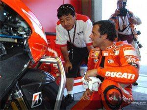 Foto: Capirossi: melhor da Ducati