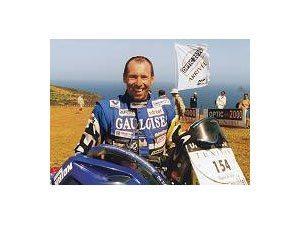Foto: Miran Stanovnik, vencedor desta etapa com KTM