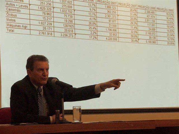 Foto: S'rgio Reze, presidente da Fenabrave