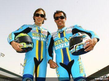 Vermeulen e Capirossi renovam contratos com a Suzuki para 2009