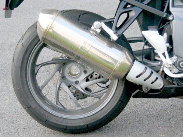Balança monobraço da suspensão programável permite desmontagem simples da roda traseira
