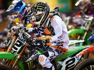 Ryan Villopoto, líder da categoria Supercross