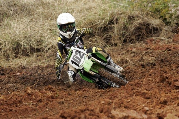 Djalminha busca os títulos das categorias 65cc e 85cc