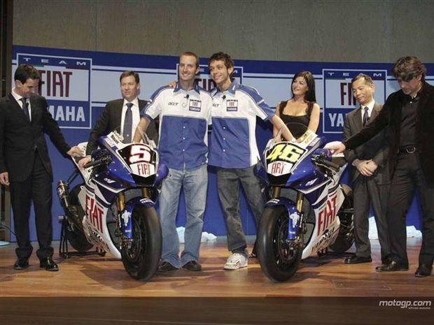 Yamaha confirma acordo de dois anos com a Fiat
