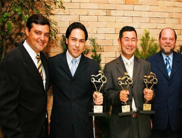Foto: Yutaka Kume, presidente da Yamaha,