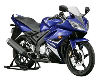 Foto: Yamaha YZF-R15 de 150 cc: s¢ na India