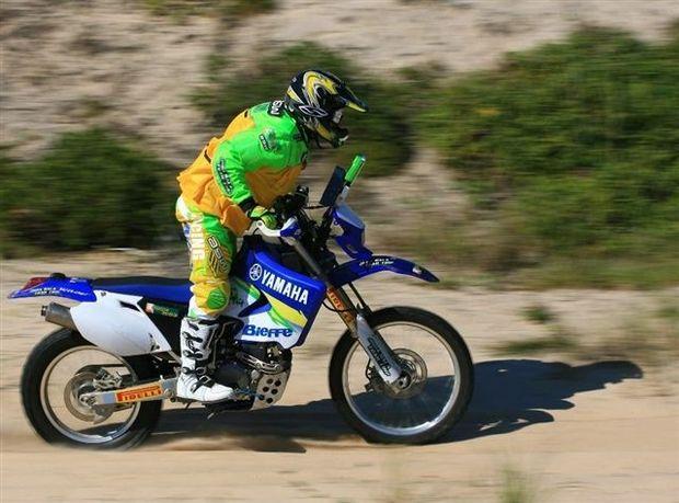 Foto: Bala pilota a Yamaha WR450