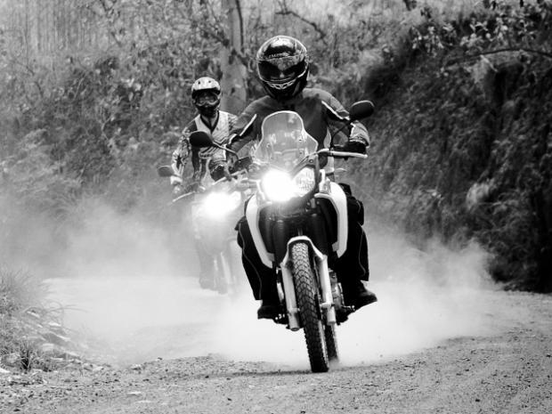 Yamaha XTZ 250 Ténéré inspirando aventureiros