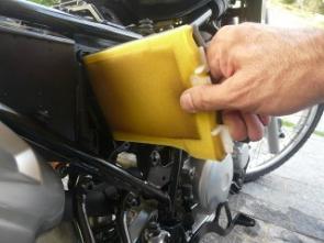 Filtro de ar lavável; conveniência com melhor custo/benefício
