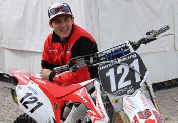 Wellington Garcia, piloto Honda no Mundial de Motocross