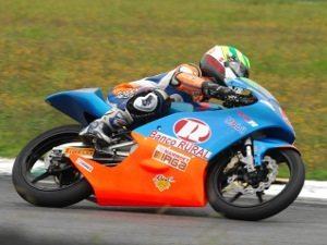 Com 1m50s626, o jovem piloto brasileiro Eric Granado, 14 anos, registrou o sexto melhor tempo durante os treinos classificatórios