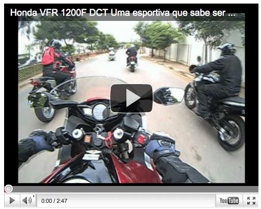 Honda VFR 1200F DCT Uma esportiva que sabe ser suave