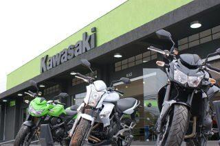 Rhino Motos, a Kawasaki de Curitiba