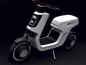 Scooter Elétrico da VW