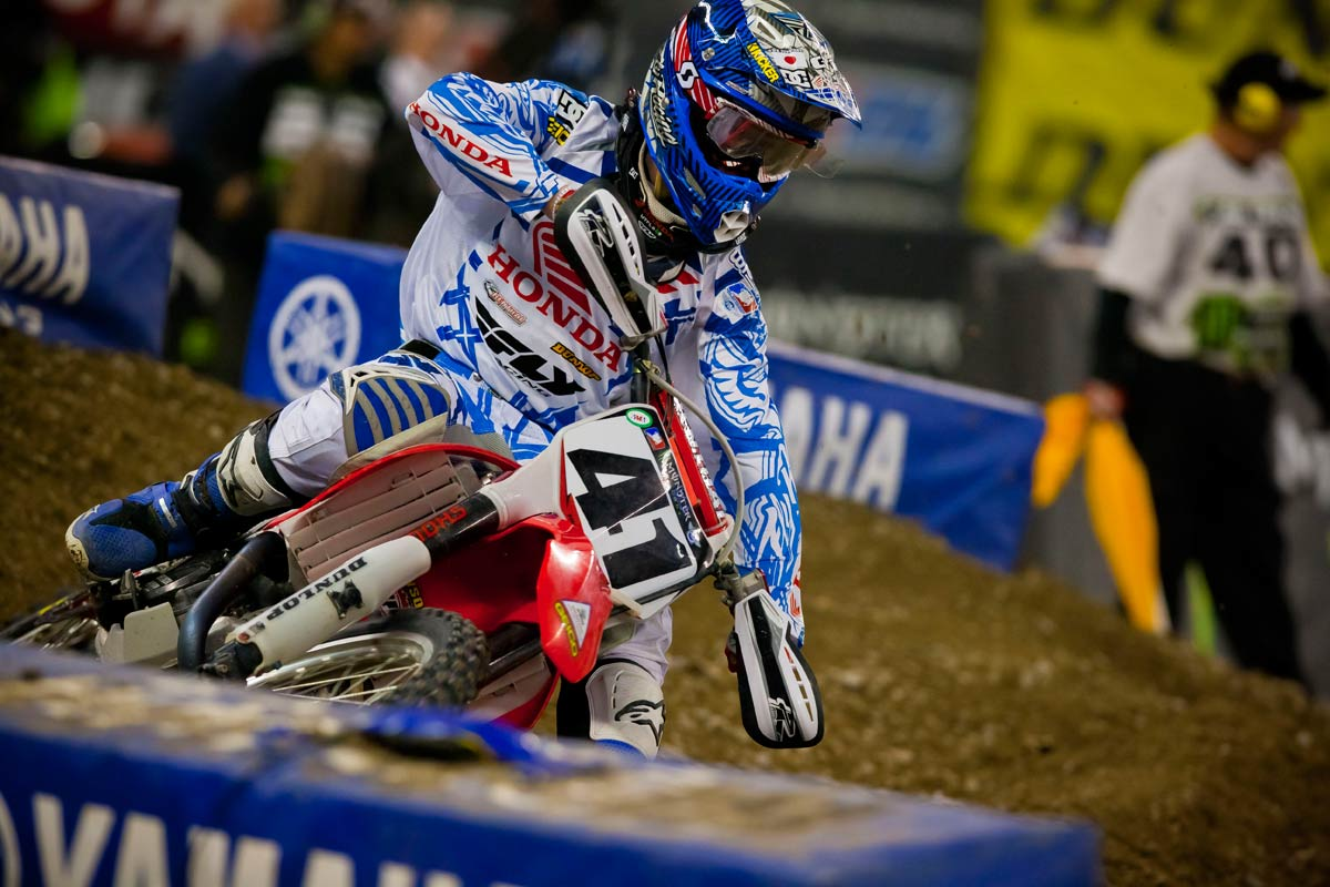Trey Canard, piloto Fly Racing