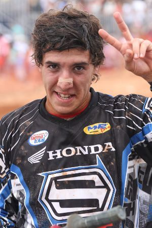 Humberto Martin, piloto da categoria MX2