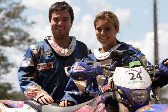 Ramon e Moara Sacilotti iniciam nesse fim de semana os preparativos para o maior rally do Brasil