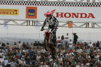 Anderson Cidade também representou o Brasil no Motocross das Nações