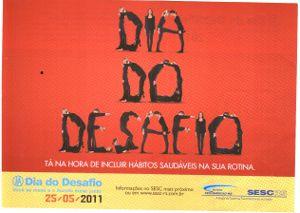 DIA DO DESAFIO