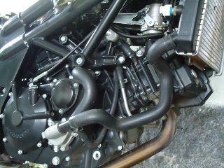 Motor V2 a 90° DOHC, 8 válvulas e duplo corpo de borboletas emite um som imponente