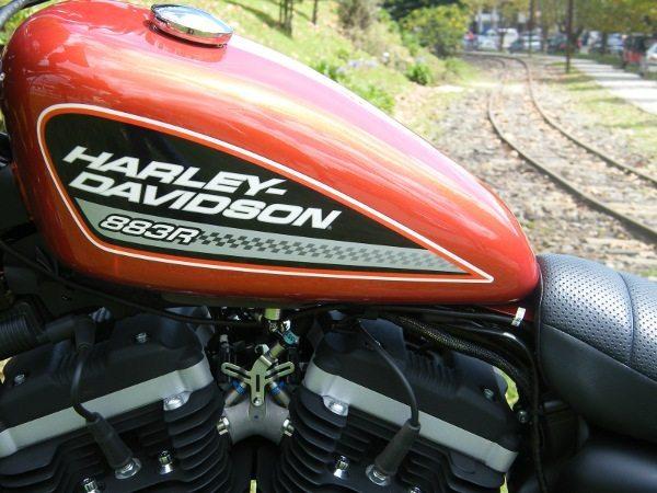 A menor das Harleys é grande e pesada