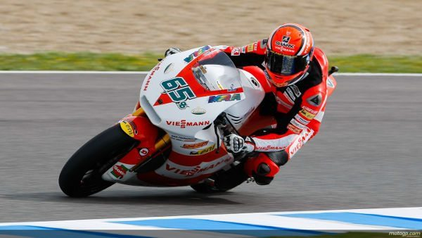 Pilotos WRP no topo da Moto2