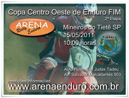 Organização: Arena Enduro