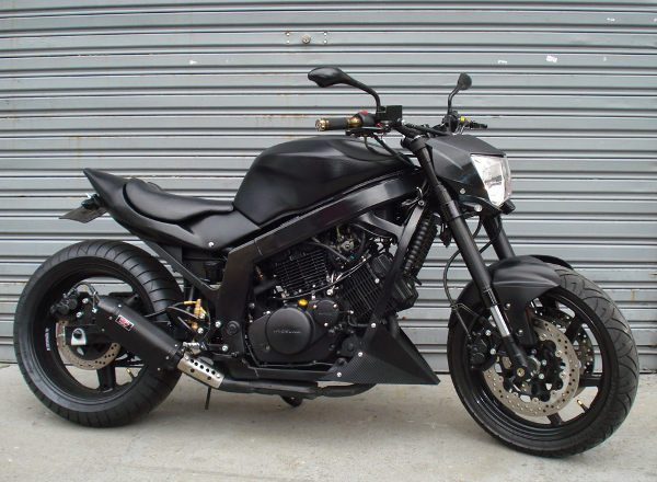 Kasinski GTR 250 Street Fighter: belo trabalho deixou a moto exclusiva