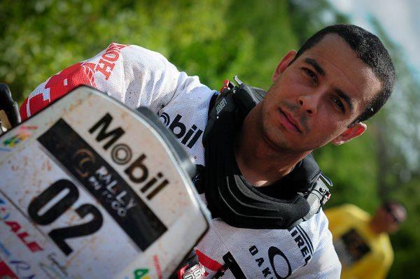 Dário Júlio, piloto Honda Mobil de Enduro de Regularidade
