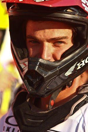Jean Ramos, piloto da Equipe Honda Mobil na MX2, no Honda GP Brasil de Motocross 2011 em Indaiatuba (SP)