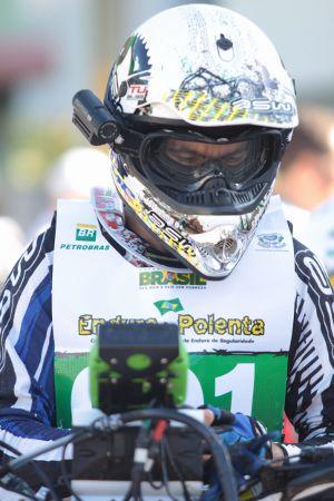 Sandro Hoffmann, piloto Honda de Enduro de Regularidade