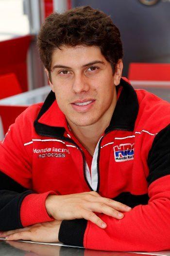 Swian Zanoni, piloto da Equipe Honda Mobil no Mundial de MX