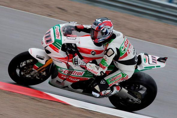 Ruben Xaus, piloto da equipe Castrol Honda no Mundial de Superbike
