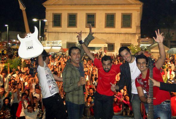 A banda Faixa Etária toca no dia 16 de julho no Bikerfest