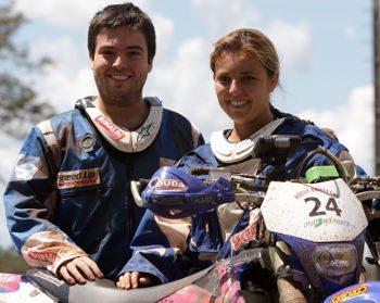 Os irmãos Ramon e Moara Sacilotti garantem que não há rivalidade entre eles
