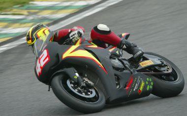 Heber Pedrosa (#42), da equipe Spiga Racing, sofreu um revés nesse fim de semana
