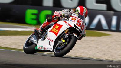 Marco Simoncelli vai partir da pole position para o Dutch TT depois de ter batido Ben Spies e Casey Stoner