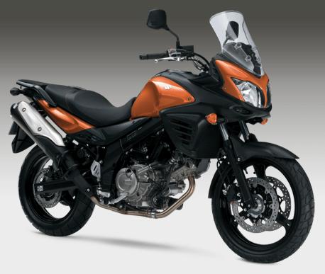 2012 V-Strom 650 ABS laranja