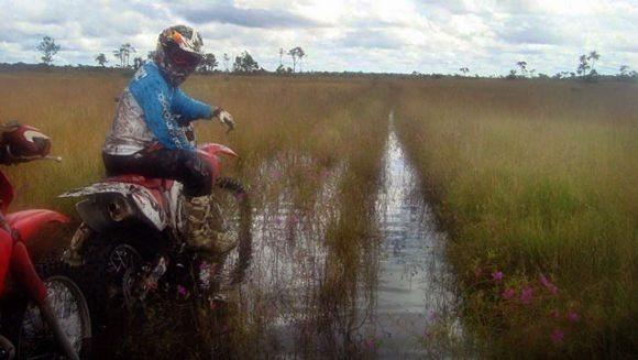 Um dos trechos que serão percorridos pelos pilotos no Rally da Amazônia