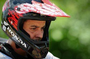 Dário Júlio, piloto da Equipe Honda Mobil de Rally Cross-Country