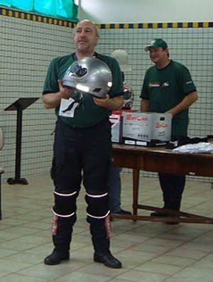 Leilão de capacetes Rovcan: arrecadação extra para ajudar nas despesas