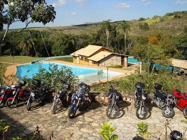 Panorama do Parque Florestal Quedas do Rio Bonito, local do 2º ENM