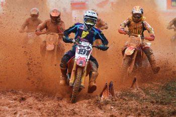 Roberto Castro, piloto da categoria MX Pró na Superliga Brasil de Motocross