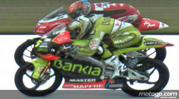 125cc Sachsenring Race, Photo finish